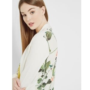 Ted Baker Floral Long Sleeve Cardigan